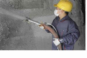 防火保温无机纤维喷涂施工